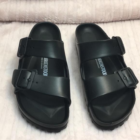 610c58f4e24 Birkenstock Shoes - Birkenstock Arizona Eva sandals size 7 black